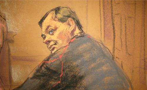 Evgeny Buryakov tại tòa án ở New York hôm 26/1. Hình minh họa: Reuters