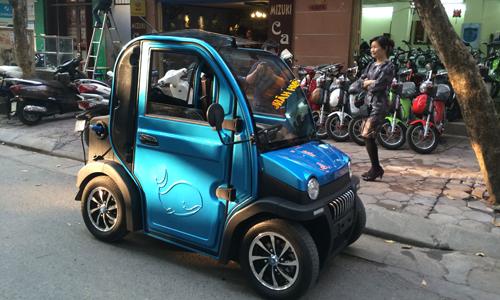 ôtô điện 70 triệu xuất hiện tại việt nam - 1