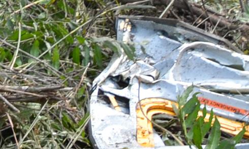 Hiện trường trực thăng rơi ở TP HCM làm 4 chiến sĩ hy sinh