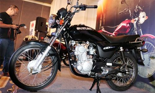 Suzuki GD110HU - xe côn tay cỡ nhỏ mới giá 1.200 USD