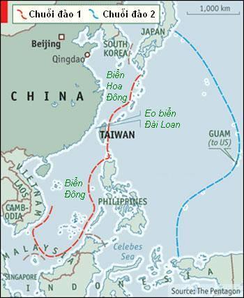Mỹ lo Trung Quốc dùng tàu sân bay độc chiếm Biển Đông 2