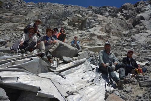 Tìm thấy xác máy bay mất tích hơn nửa thế kỷ