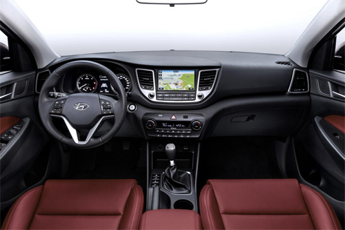Hyundai Tucson 2016 lột xác hoàn toàn mới 3