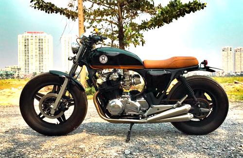 Honda CB750 cổ điển của dân chơi đảo Phú Quốc
