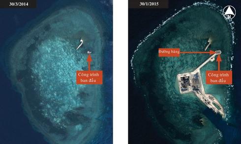 Tình báo Mỹ: 'Trung Quốc mở rộng tiền đồn ở Biển Đông'