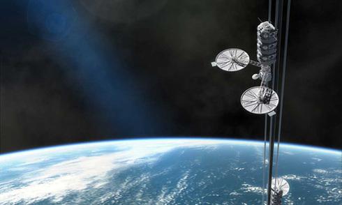 Tham vọng bắc thang máy lên vũ trụ