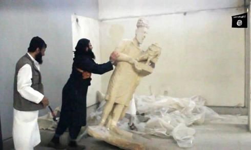 Nhà nước Hồi giáo đập phá báu vật cổ ở Iraq