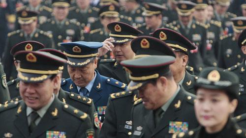 Trung Quốc khai trừ quan chức quân đội cấp cao khỏi quốc hội