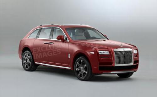 SUV của Rolls-Royce sẽ có tên Cullinan