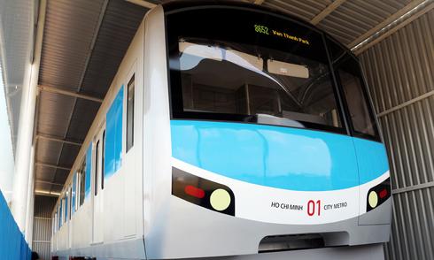 Bên trong metro đầu tiên của Việt Nam