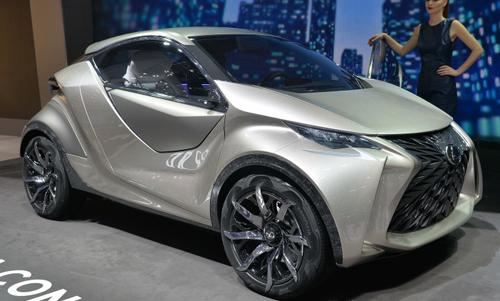 Lexus LF-SA - concept lạ cỡ nhỏ