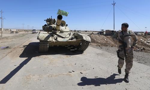 Iraq đẩy lùi IS ở gần căn cứ quân sự chiến lược