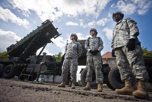 Mỹ điều hệ thống phòng thủ tên lửa tới sát Nga tập trận