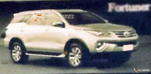 Ảnh SỐC về Toyota Fortuner 2015-2016 thế hệ mới