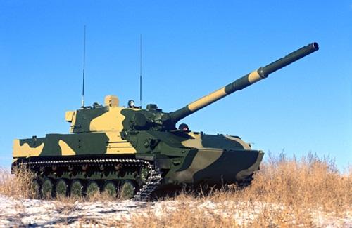pháo chống tăng tự hành đổ bộ từ trên không Sprut-SD.