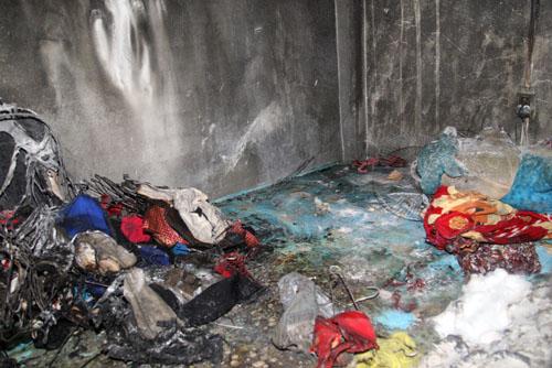 Nhân chứng vụ phóng hỏa phòng trọ: 'Hai cô gái kêu cứu thảm thiết'
