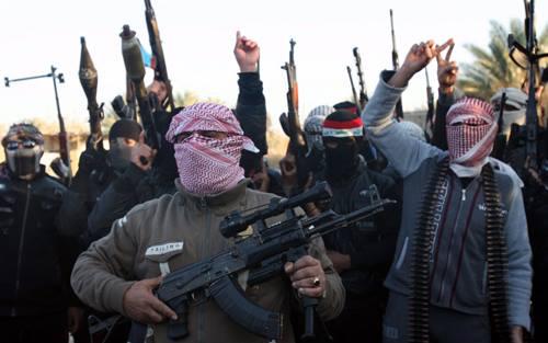 Phiến quân IS. Ảnh: aljazeera