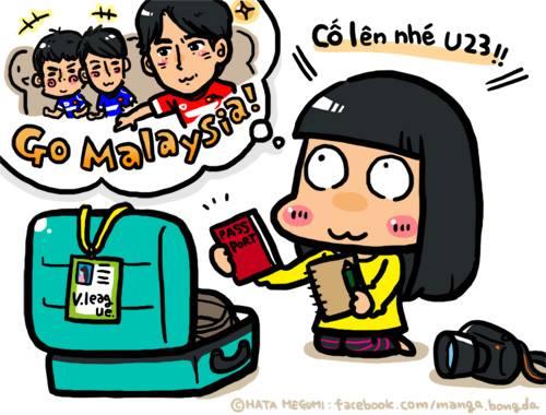 nu phong vien nhat hen cong ph 9398 1911 1427190093 Nữ phóng viên Nhật quyết theo đuổi Công Phượng đến Malaysia
