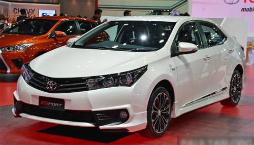 Toyota giới thiệu Corolla Altis ESport Nurburgring Edition ở Bangkok Motor Show. Ảnh: Paultan.