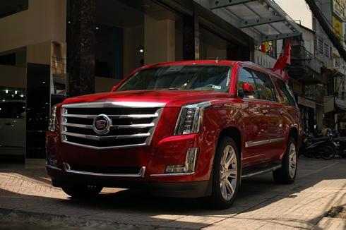 Cadillac Escalade 2015 màu độc nhất Việt Nam