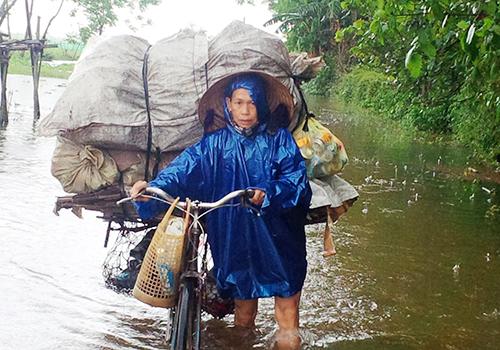 Thủy điện xả lũ, Thừa Thiên - Huế lụt nặng