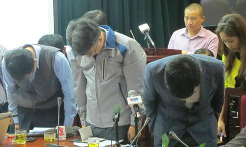 Nhà thầu cúi đầu xin lỗi các nạn nhân vụ sập giàn giáo Formosa