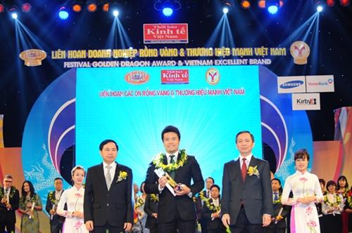 Hãng lốp Bridgestone Việt Nam giành giải Rồng Vàng