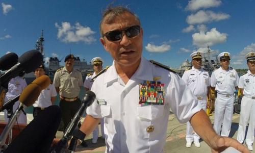 Đô đốc Harry Harris. Ảnh: Reuters.