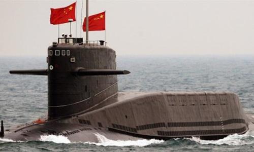 Một tàu ngầm lớp Jin của Trung Quốc. Ảnh: Press TV.