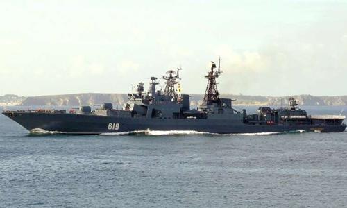 Tàu khu trục Severomorsk. Ảnh: shipspotting.com.