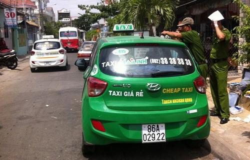Truy đuổi tên cướp taxi từ hệ thống định vị
