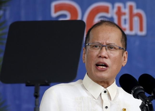 Tổng thống Philippines Benigno Aquino. Ảnh: Reuters.