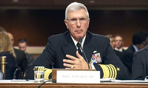 Đô đốc Samuel Locklear.