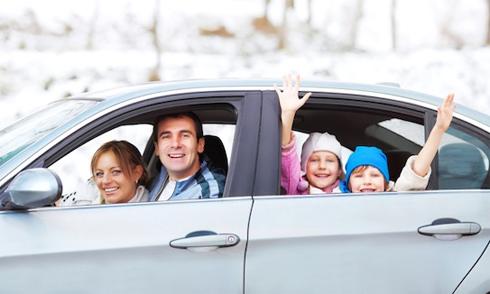 Khi có con mới biết xe hơi sung sướng thế nào