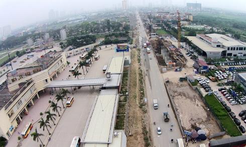 Bẫy 'tử thần' trên tuyến buýt nhanh 1.000 tỷ đồng ở Hà Nội