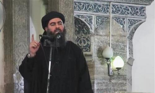 Thủ lĩnh IS có thể bị chấn thương cột sống