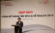 Kỷ lục mới về bán hàng của Toyota Việt Nam năm 2014