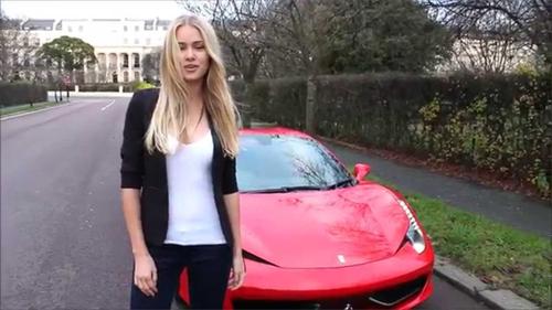 Người mẫu Ukraine làm chủ hãng cho thuê siêu xe