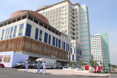 Bệnh viện đa khoa Đồng Nai mới chính thức được đưa vào hoạt động. Ảnh: Hoàng Trường