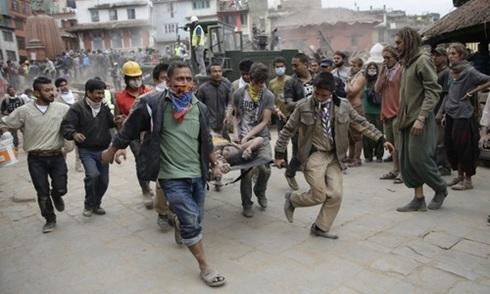 Hơn 2.200 người thiệt mạng vì động đất ở Nepal
