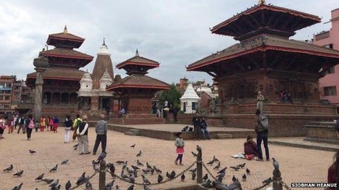 Những di tích bị động đất tàn phá ở Nepal - ảnh 4