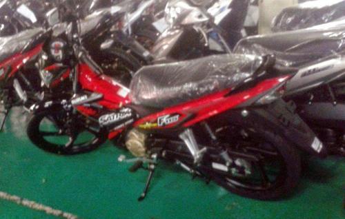 Suzuki Raider thêm phiên bản 115 phân khối
