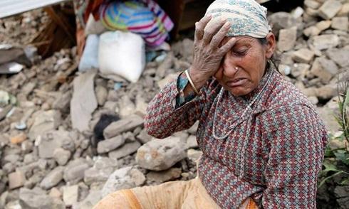 Cứu hộ khó tiếp cận nhiều khu vực hẻo lánh ở Nepal