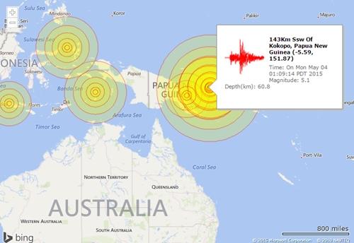 Động đất mạnh gây cảnh báo sóng thần khắp nam Thái Bình Dương