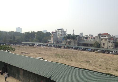 Hà Nội làm bãi xe ngầm 10.000 m2 trong 'hầm 5 sao'