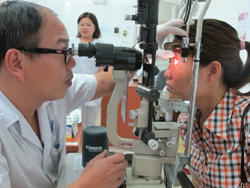 Miền Bắc bắt đầu vào mùa bệnh đau mắt đỏ