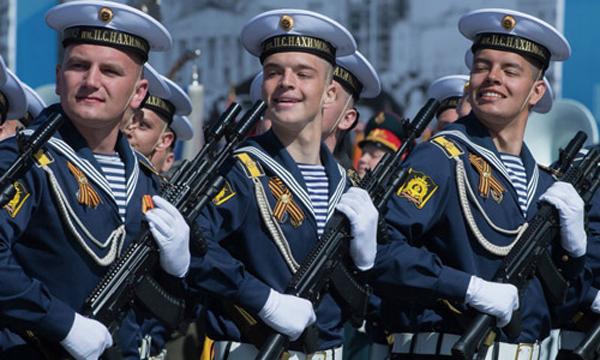 Hàng chục nghìn binh sĩ sẽ tham gia lễ diễu binh tại Quảng trường Đỏ ở thủ đô Moscow. Ảnh:Sputnik