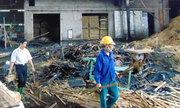 Xưởng gỗ rộng gần 7.000 m2 bốc cháy trong đêm
