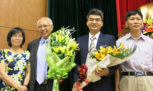 4 nhà khoa học giành giải thưởng Tạ Quang Bửu 2015