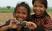 Cá sắt trong bữa ăn của người Campuchia